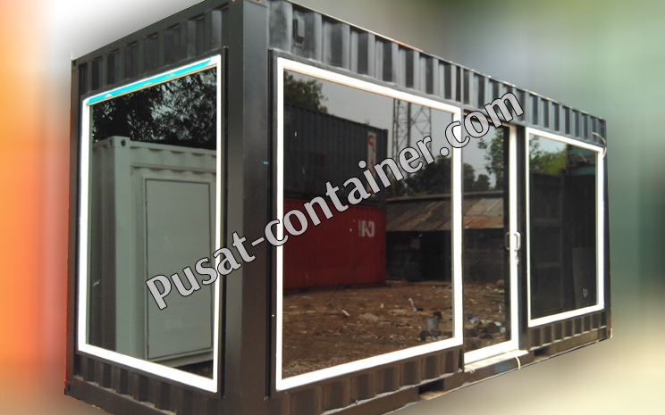 20 feet hight cube office container custom 1